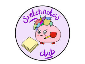Sketchnotes club logo